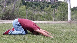 Estiramiento de los hombros y la espalda