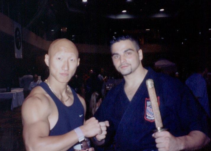 Nacho Serapio y Arnold Chon